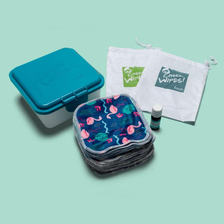 Cheeky Baby Wipes LUXURY Minky Hands & Faces Kit