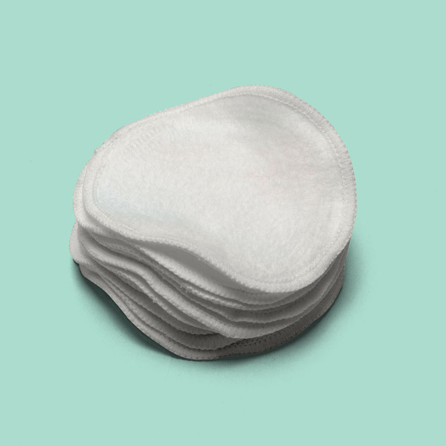 Washable Cloth Eye Make up removal pads