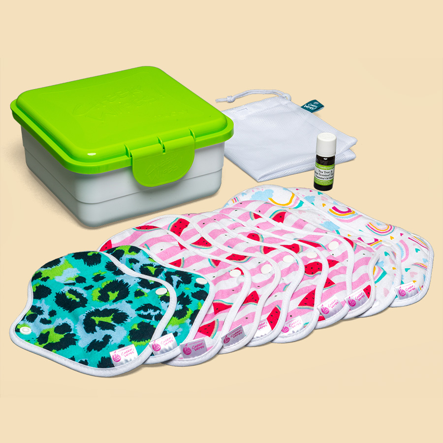 Cheeky Mama Cloth Sanitary UltraPad Full Kits